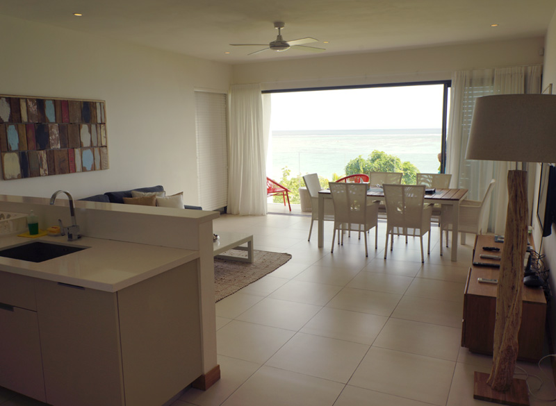 Beachfront 2 Bedroom Apartment