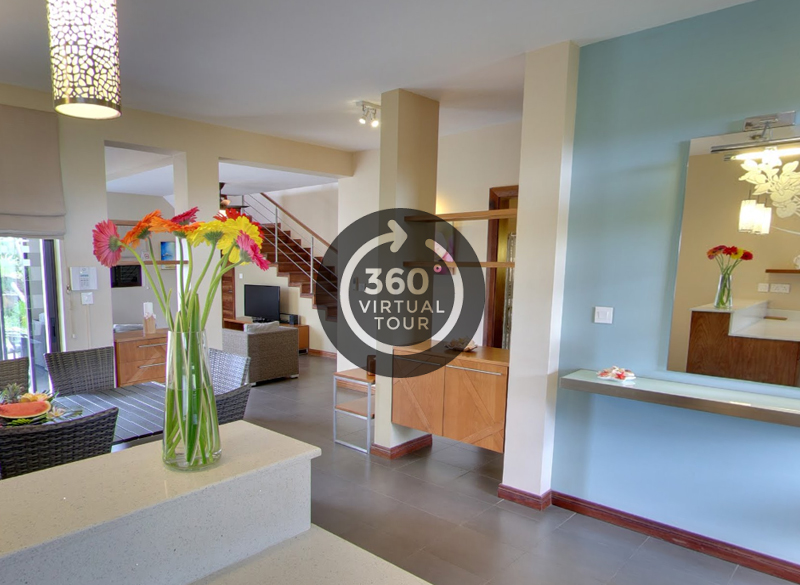 VillaSun Oceanview 4 Bedroom Villa Virtual Tour